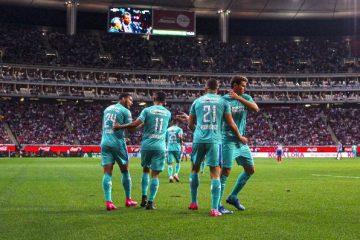 Cruz Azul vence a las Chivas del Guadalajara en su propia casa