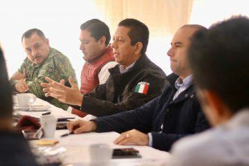 Encabeza Llaven Mesa de Seguridad Regional en La Trinitaria
