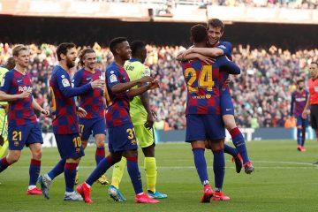 Barcelona derrota a Getafe; presión al Real Madrid