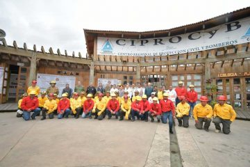 Instalan Centro Regional para combatir incendios