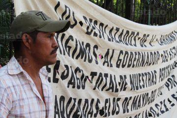 Desplazados de Carranza exigen reubicación