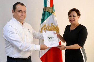 Xóchitl Villatoro Solórzano nueva fiscal de la Mujer en Chiapas