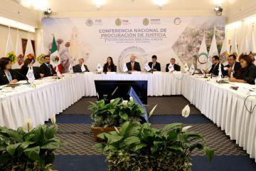Participa Fiscalía en Conferencia Nacional de Procuradores en Xalapa