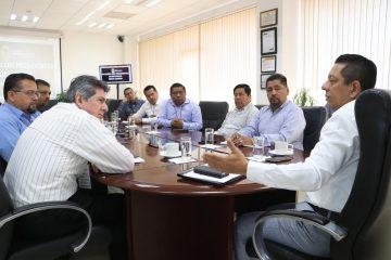 Sostiene Llaven reunión de trabajo con presidentes municipales de la Región Centro