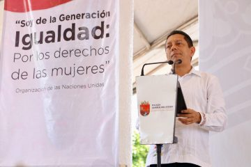 Desde Suchiate Llaven llama a erradicar la violencia en contra de las mujeres en Chiapas