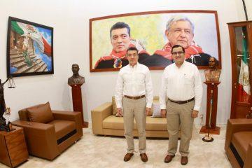 No se suspende pago de Programas para el Bienestar, anuncian Rutilio Escandón y Aguilar Castillejos