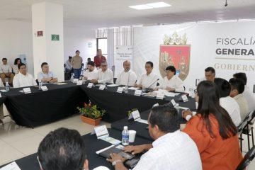 Ratifica Llaven compromiso de hacer respetar los derechos humanos en Chiapas