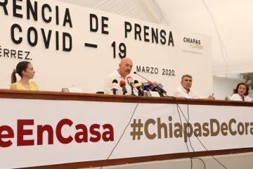 Chiapas llega a 13 casos de COVID-19; último está hospitalizado en el ISSSTE