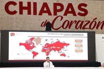Debemos poner el ejemplo y acatar indicaciones de salud, dijo Rutilio Escandón a su Gabinete