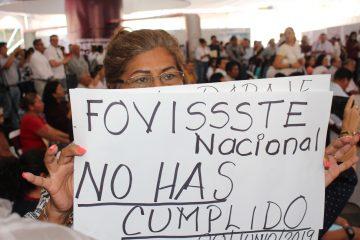 «Caravana de la Vivienda» se convierte en reclamo para el Fovissste en Chiapas