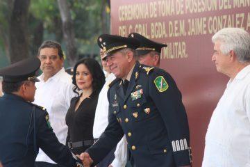 Jaime González Avalos, nuevo comandante de la VII Región Militar