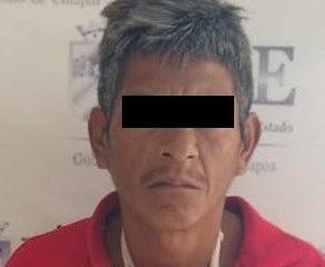 Detiene Fiscalía a presunto pederasta en Villaflores