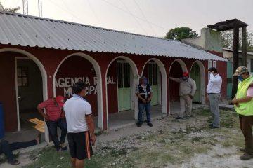 Salud brinda asesoría sobre destino final de paciente con COVID-19 en ejido Francisco León