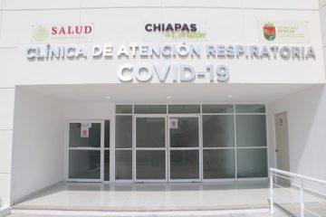 Pone en marcha Rutilio Escandón Clínica de Atención Respiratoria COVID-19 en Villaflores