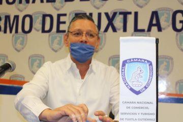 Negocios de Tuxtla esperan indicación oficial para reiniciar actividades: Canaco