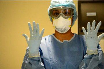 Enfermera en lucha contra el COVID 19