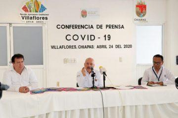 Chiapas supera los 100 casos de coronavirus