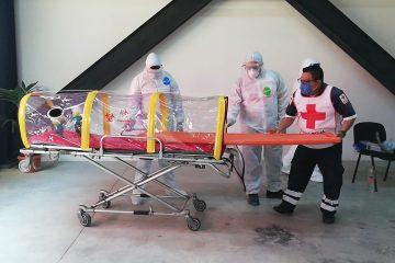 Se prepara Cruz Roja para atender pacientes de Covid-19