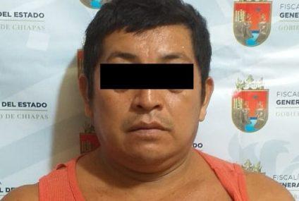 Detienen a homicida en Salto de Agua, Chiapas