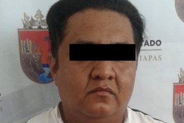 Detenido por violación equiparada en Tuxtla