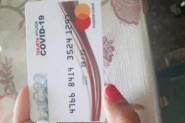 ¡Fraude con tarjetas para «apoyos» por contingencia!