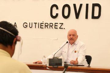 A 74 días de la pandemia por coronavirus, 357 casos y 21 defunciones en Chiapas