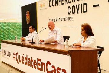 Con más de 500 casos de COVID-19, Chiapas aumenta nivel de contagio