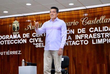 Ante nueva normalidad, reactivaremos el turismo con seguridad sanitaria y protección civil: Rutilio Escandón