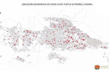 Casos de Covid-19 en Tuxtla Gutiérrez, resultado de alta movilidad e incumplimiento de medidas sanitarias entre ciudadanos
