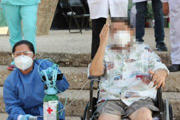Dan de alta con éxito paciente que estuvo hospitalizado 51 días por COVID-19