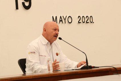 Mil 228 casos y 94 defunciones por COVID-19 en Chiapas