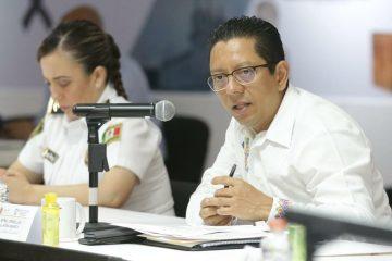 Pide Llaven a alcaldes reforzar estrategias del Plan Estatal COVID-19 en sus municipios
