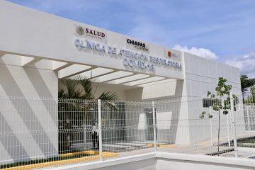 En Tonalá, inaugura Rutilio Escandón Clínica de Atención Respiratoria COVID-19
