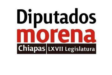 Diputados locales de MORENA condenan actos vandálicos en Carranza