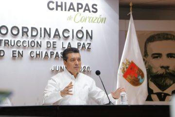 Destaca Rutilio Escandón solidaridad del pueblo de Chiapas ante la emergencia por COVID-19
