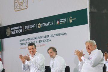 Con el Tren Maya, el presidente AMLO ofrece bienestar y un homenaje a la cultura: Rutilio Escandón