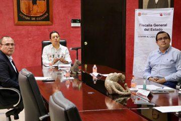 Fiscalía y Federación coordinan esfuerzos para apoyar a víctimas del delito