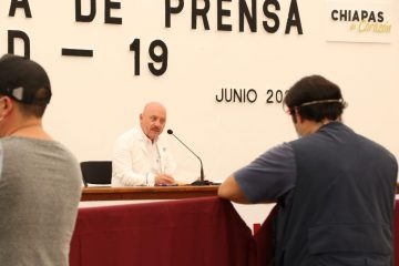 Chiapas: 97 casos nuevos y cinco decesos en las últimas horas