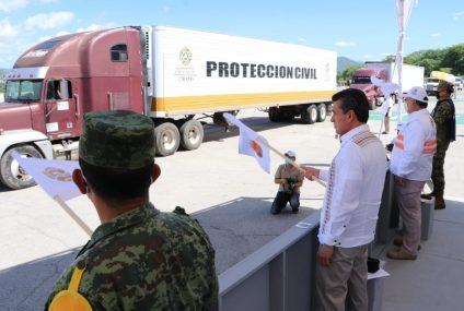 Destaca Rutilio Escandón apoyo de las Fuerzas Armadas a través de planes DN-III-E y Marina