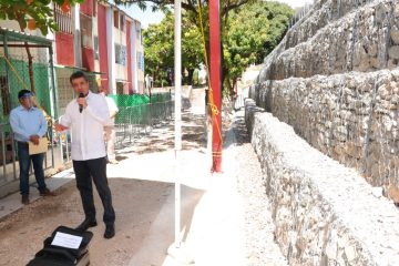 En Tuxtla Gutiérrez, constata Rutilio Escandón obras para evitar riesgos por lluvias