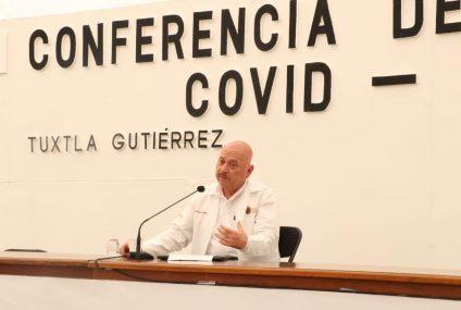 Chiapas reporta 201 muertes por Covid-19