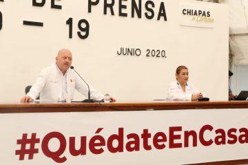 Supera Chiapas los 3 mil casos de COVID-19