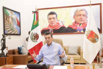 Sostiene Rutilio Escandón llamada oficial con embajador de Estados Unidos en México, Christopher Landau