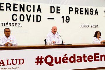 Supera Chiapas los 4 mil casos de COVID-19