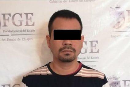 Aprehende Fiscalía a implicado en hechos violentos en Cintalapa