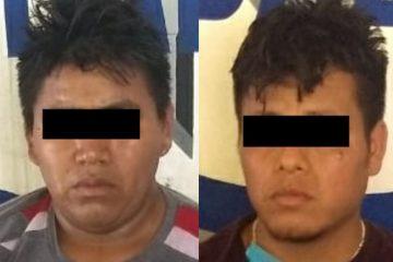 Detenidos por robo de vehículo con violencia en Palenque, Chiapas