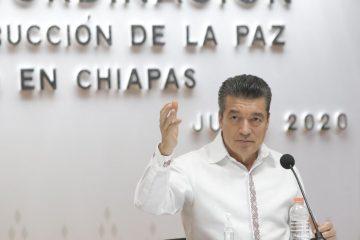 Convoca Rutilio Escandón al pueblo de Chiapas a colaborar con las autoridades para localizar a Dylan