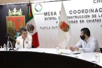 Unidad y coordinación para lograr la recuperación económica y proteger la salud: Rutilio Escandón