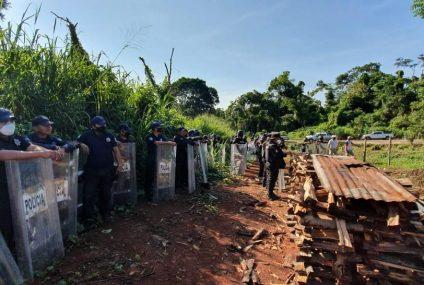 Recuperan fuerzas de seguridad 105 hectáreas invadidas en Tapachula: Llaven Abarca