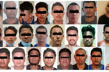 Van 142 detenidos en Operativo Antipandillas en Chiapas